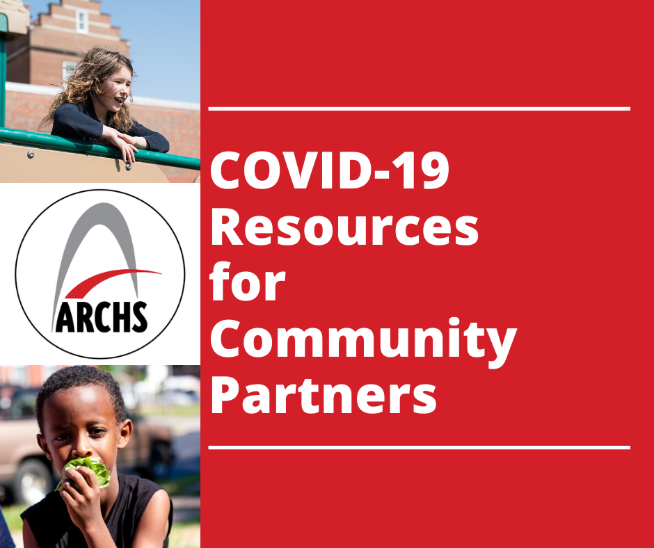 COVID 19 Resources for Community Partners