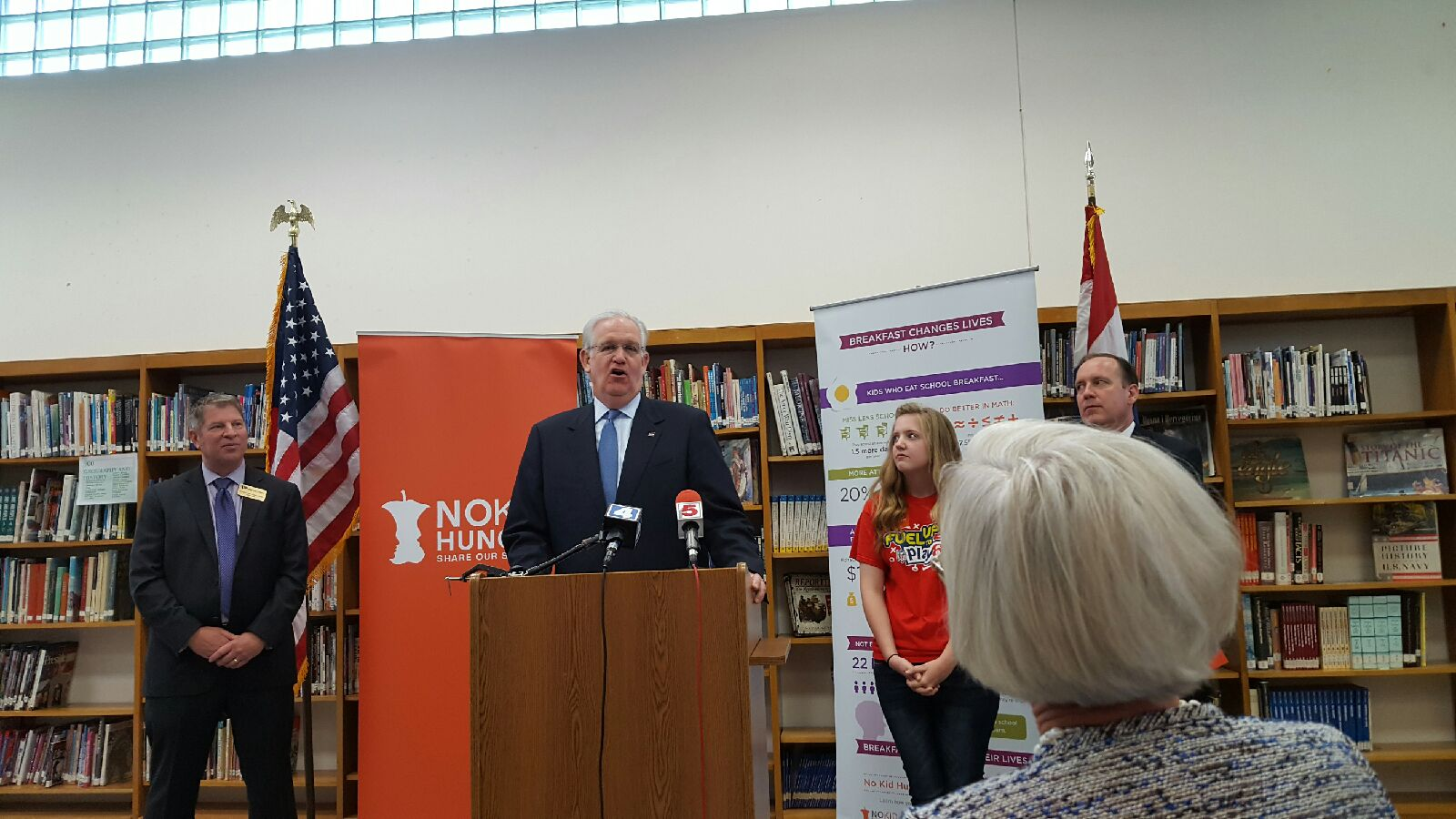 Gov. No Child Hungry Annouce