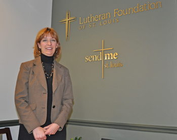 Ann L. Vasquez, President and Chief Executive Officer of the Lutheran Foundation of St. Louis